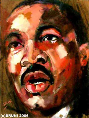 Martin Luther King Jr. portrait